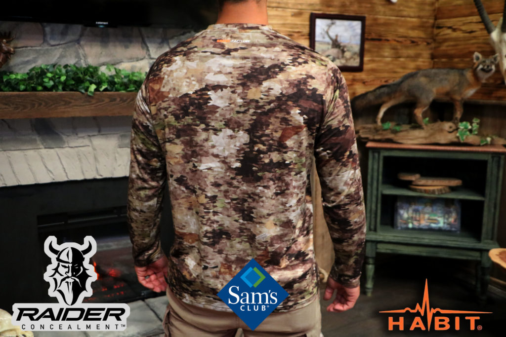 Raider Broadsword Apparel Now available at Sam's Club Nationwide