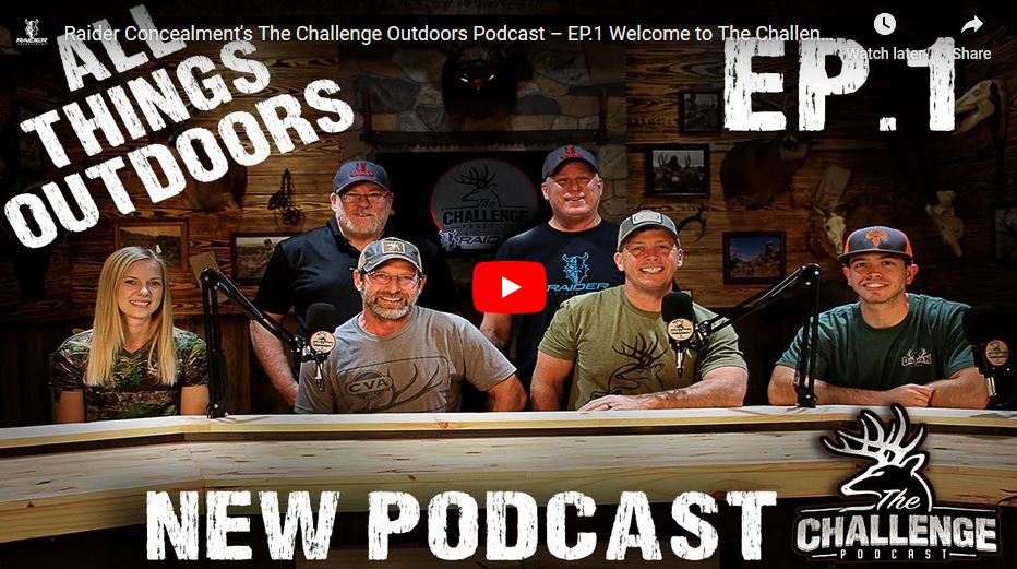 Watch Episode 1 of The Challenge Podcast on YouTube!